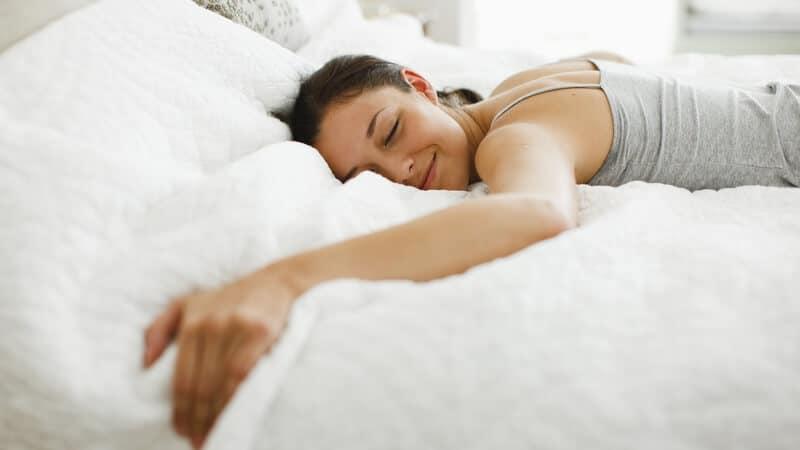 my nite sleep psotion